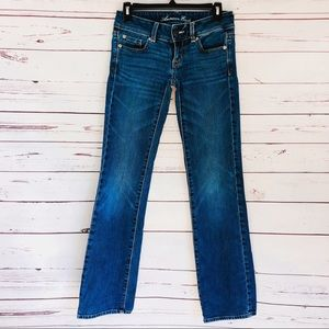 American Eagle Slim Bootcut Stretch Jeans - 00